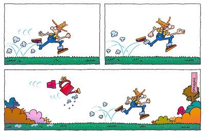 Humor y jardinería - Cada tanto, el Jardinero Mágico saca sus ideas a pasear.