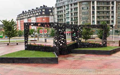 En el fondo, la ciudad- Bilbao jardín 2011