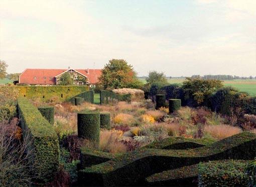Piet Oudolf, jardín de su casa en Hummello