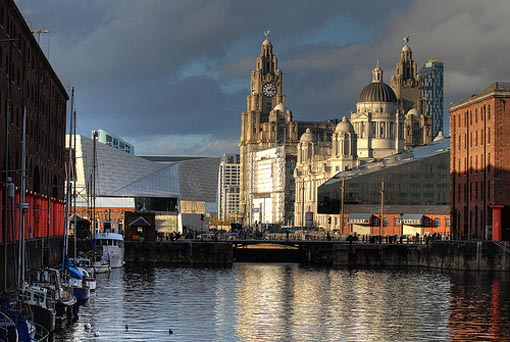 Albert Dock en Liverpool