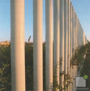 Detalle empalizada Expo92