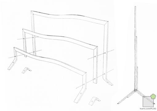 valla metálica modular Expo92