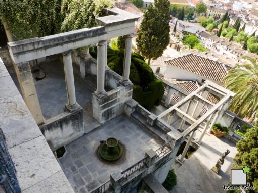 El carmen está estructurado en distintas terrazas