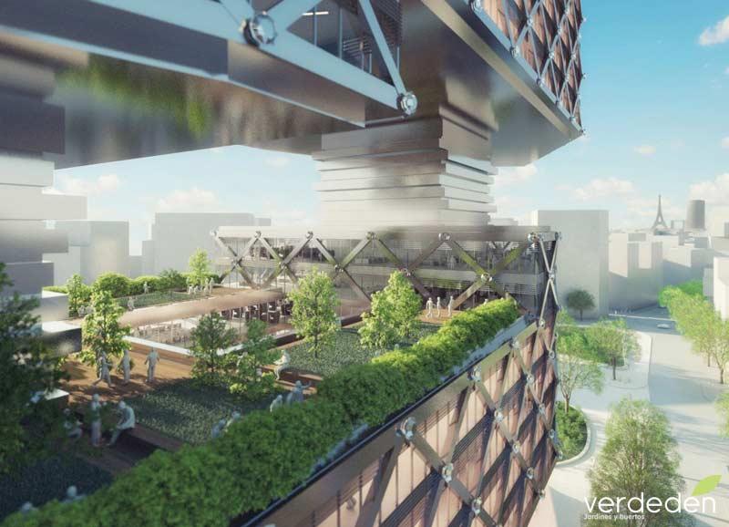 "Le Cinq"" Office Tower / Neutelings Riedijk Architects"
