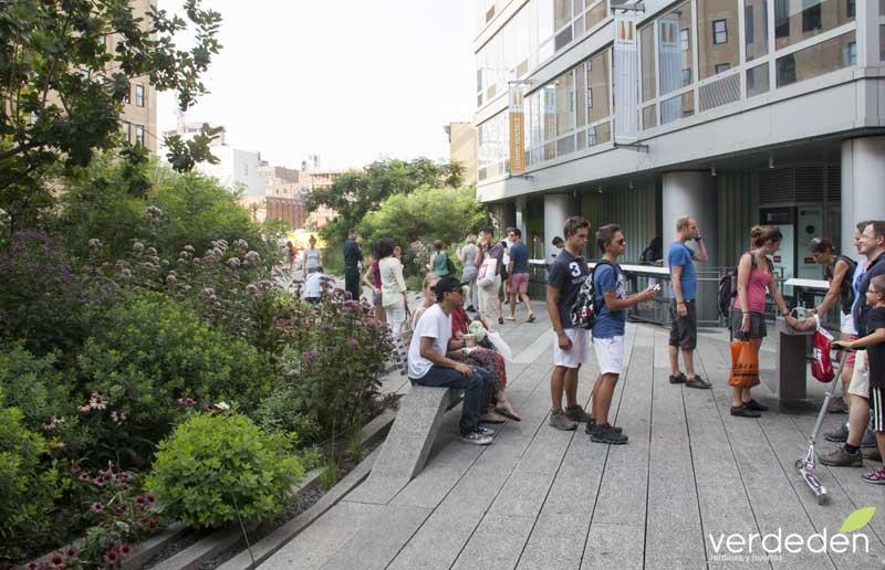 Highline y fuente
