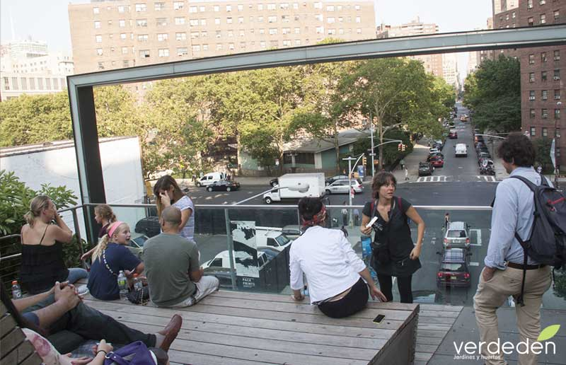 Highline: mirador calle 26