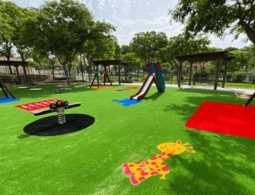 10 beneficios del césped artificial en parques infantiles