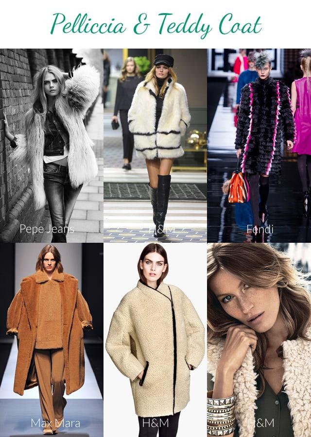 tendenze autunno inverno 2013 2014: cappotti pelosi e pelliccia