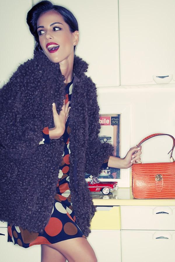verdementa shop, giacca Christelle in lana bouclé