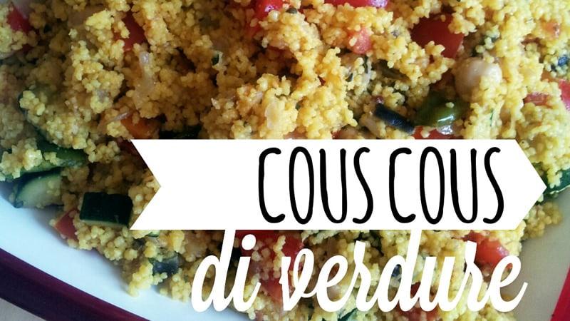 Cucina vegetariana   Couscous di verdure
