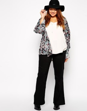asos_plus size flare jeans-2