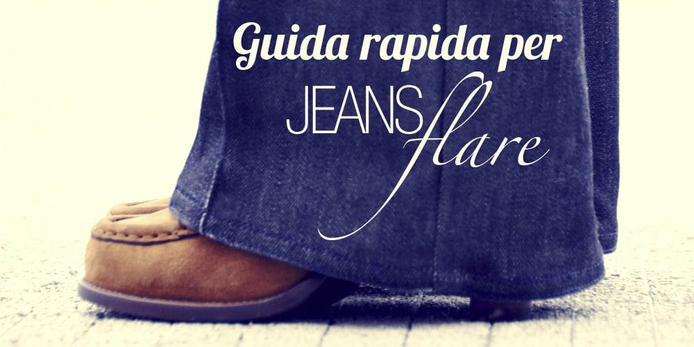 Tendenze   Come indossare i jeans flare (o scampanati, o a zampa)