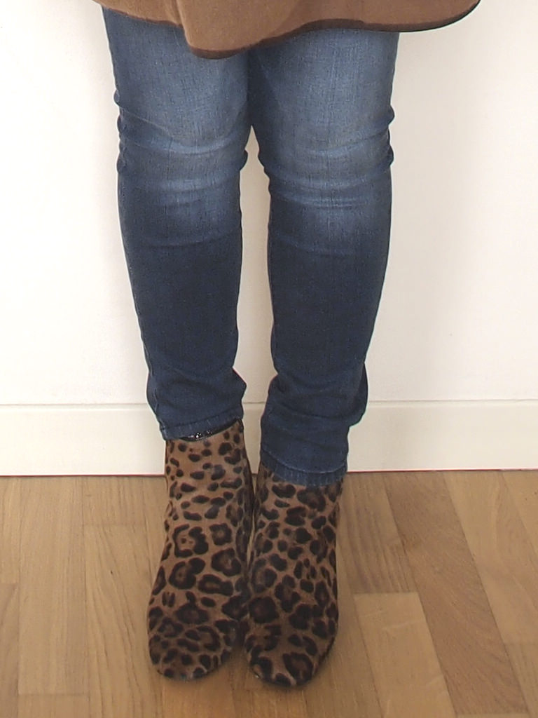 curvy blog verdementa outfit stivaletti leopardati Zara leo print boots