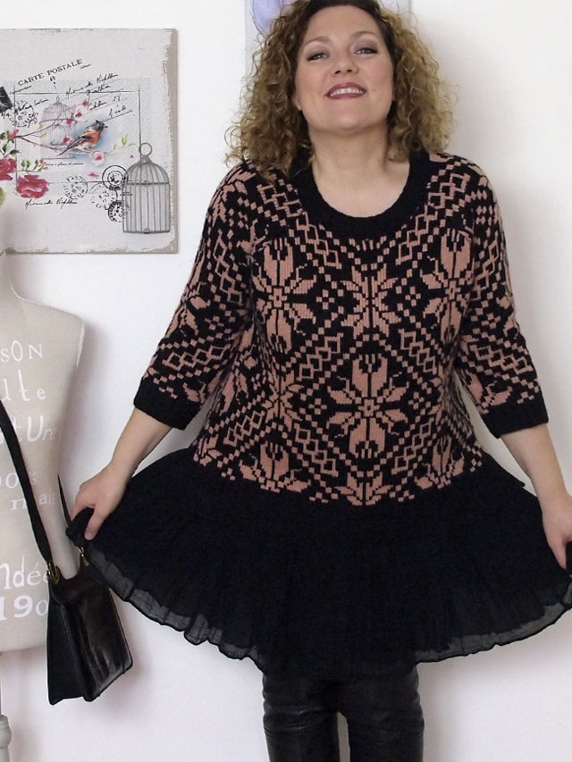 Verdementa_Blog-outfit-curvy-gonnellina-maglione-jacquard-4