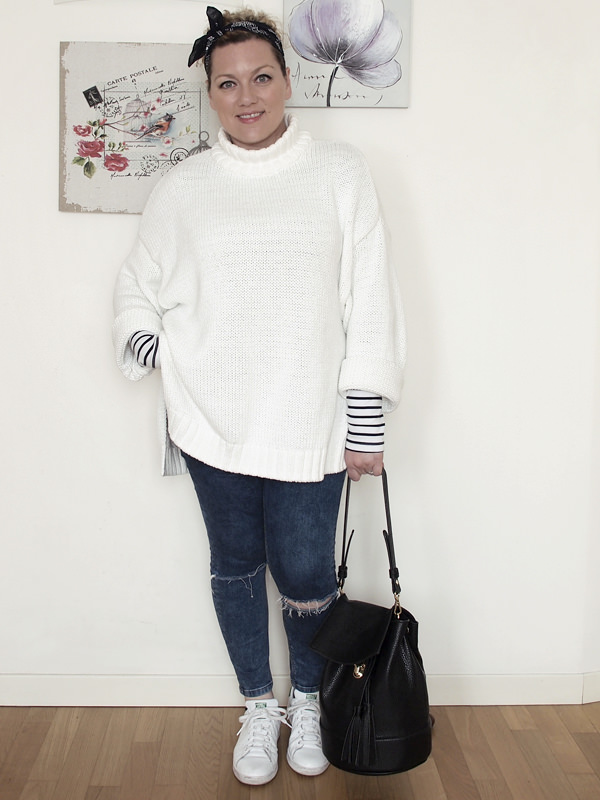 VerdementaBlog_outfit-curvy-maglione oversize bianco jeans skinny-6