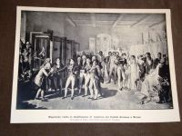 napoleone bonaparte cartolina visita stabilimento