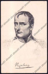 napoleone bonaparte cartolina immagine
