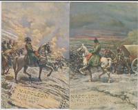 napoleone bonaparte cartolina serie