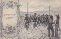 i bersaglieri in bicicletta