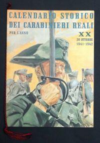 i carabiniericalendario 1941