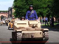 raduno automezzi militari alla cittadella di alessandria