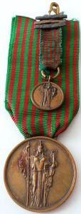 medaglie di guerra ww1 e ww2