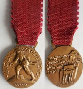 medaglia militare bersaglieri