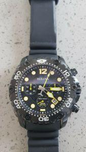 bulova cronografo militare