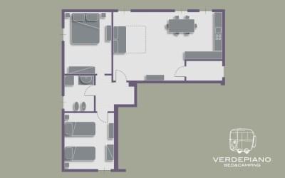 Appartamento 3 | Alloggio CUPRESSUS SEMPERVIRENS
