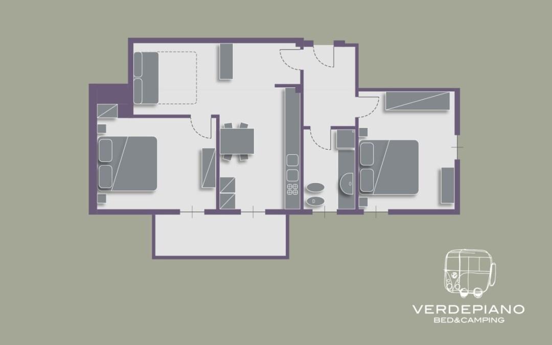 Appartamento 4 | Alloggio PUNICA GRANATUM