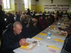 la mensa dei poveri a Santa Maria del Fiore