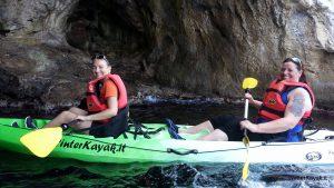 kayaktocht Bergeggi Ligurie
