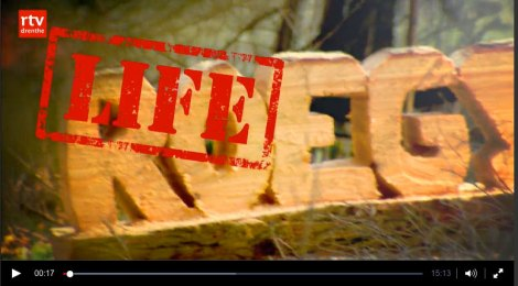 RTV Drenthe ROEG over LIFE-project Drents Friese Wold 16 april 2016