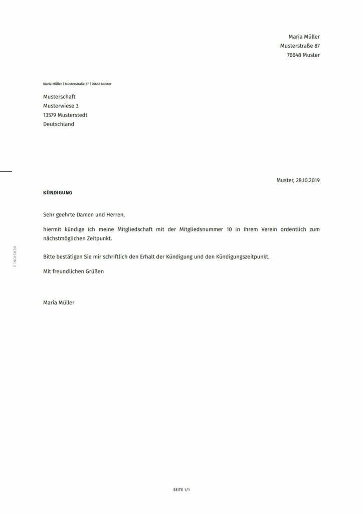 Mitgliedschaft muster kündigung IG Metall