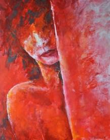 Amarante, Acryl auf Leinwand, 100x80cm