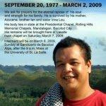 ✞ In Memoriam ✞