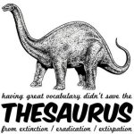 Thesaurus R.I.P.