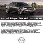 Jeder Popel fährt nen Opel