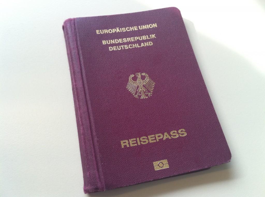 Mein alter Pass