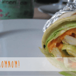 Curry Mango Chicken Wraps