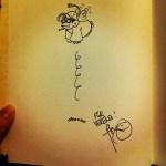 Ein Autogramm von Flix!