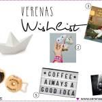Wishlist 06/2015