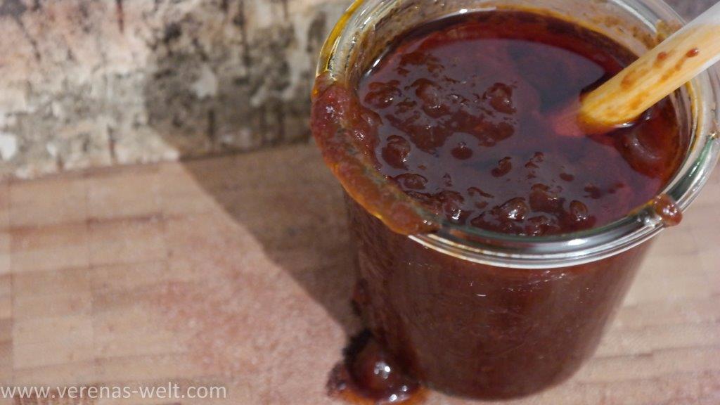 BBQ-Sauce selbstgekocht