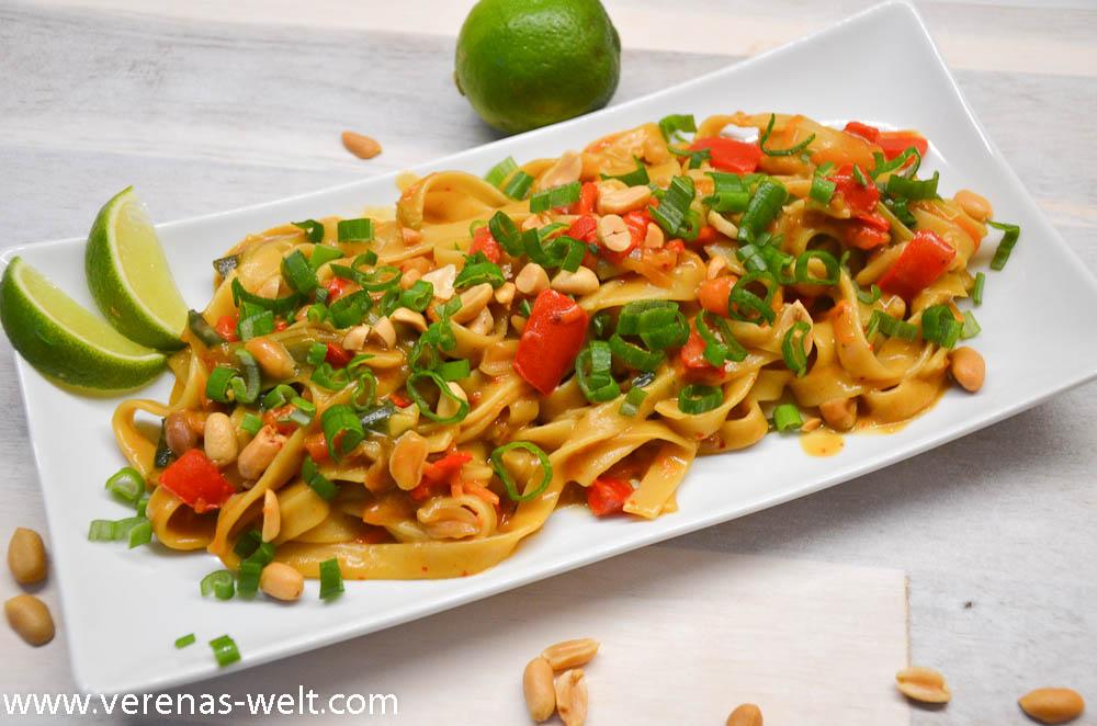 One Pot Pasta - Thai Peanut Pasta