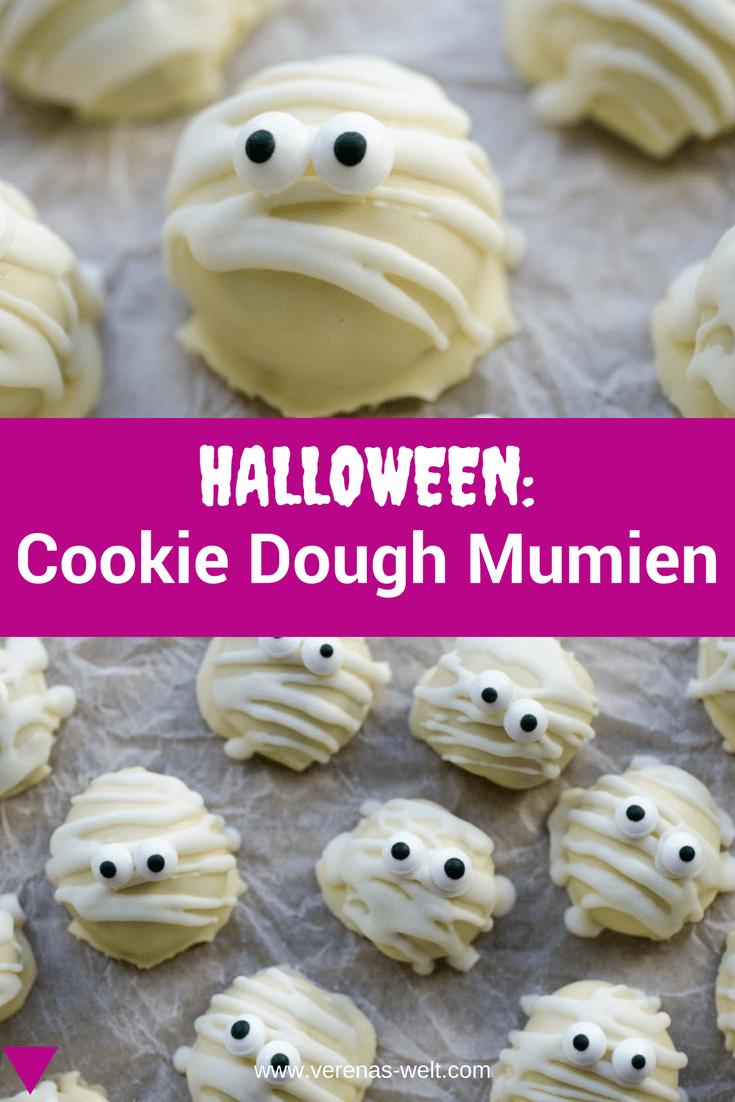 Halloween: Cookie Dough Mumien