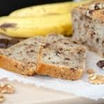 Bananenbrot mit Schokolade und Walnüssen