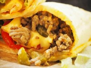 Big Mac Rolle Low Carb