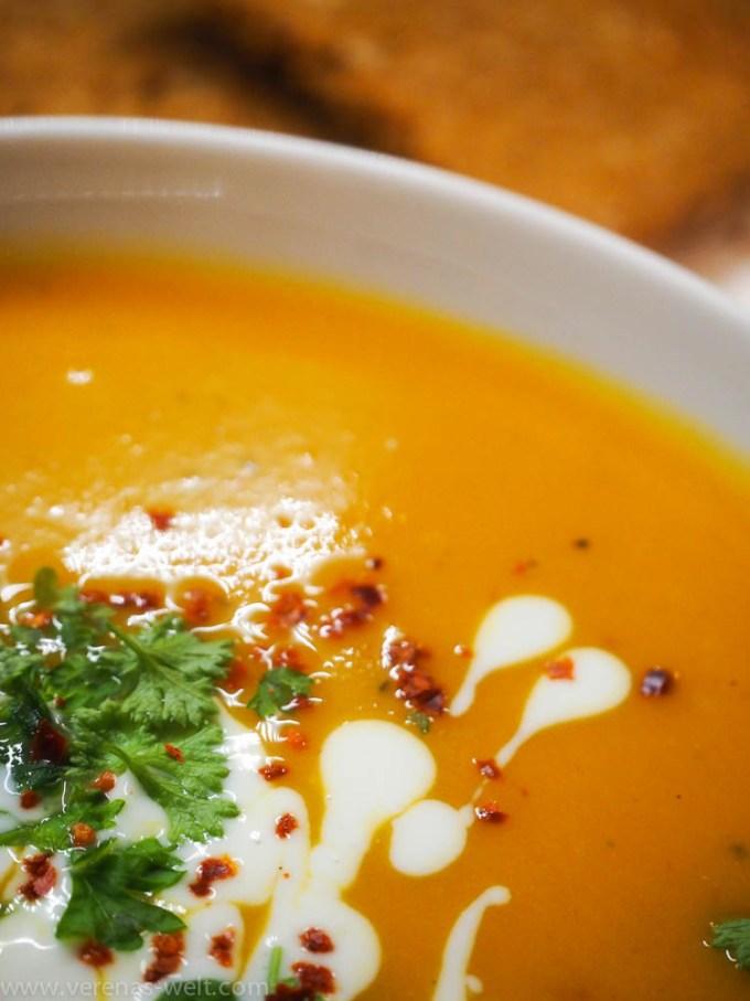 Süßkartoffel-Kokos-Suppe