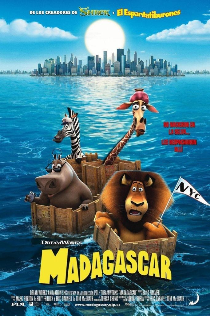 Madagascar (2005) HD 1080p Latino