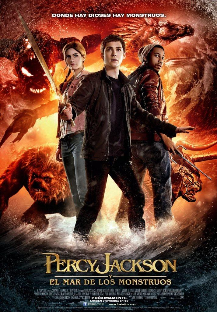 Percy Jackson y el mar de los monstruos (2013) HD 1080p Latino